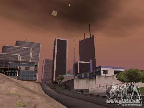 Weather manager para GTA San Andreas sucesivamente de pantalla