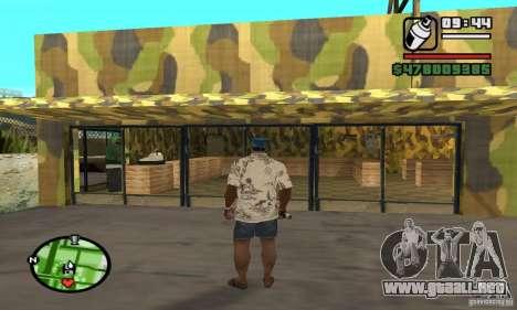 Tienda de armas en Grove para GTA San Andreas sexta pantalla
