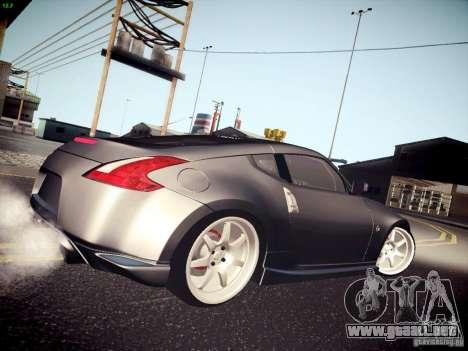 Nissan 370Z Fatlace para GTA San Andreas left