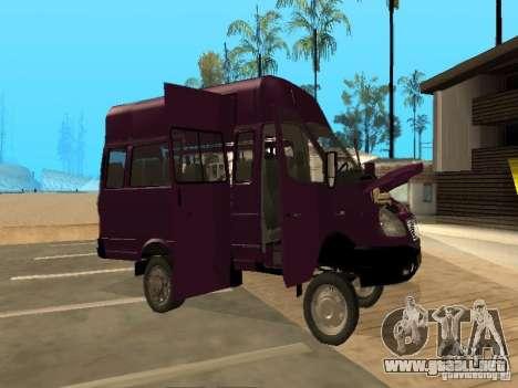 Taxi gacela 32213 para visión interna GTA San Andreas