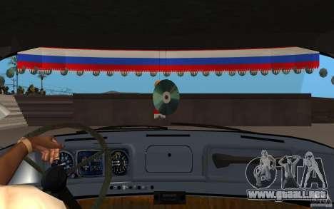 ZIL 130 Radio Butka para visión interna GTA San Andreas