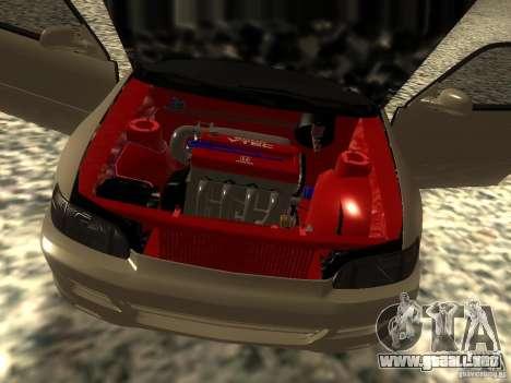 Honda Civic EG6 JDM para GTA San Andreas vista hacia atrás