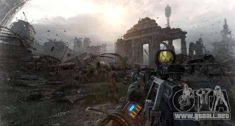 Metro Last Light AK 47 para GTA San Andreas tercera pantalla