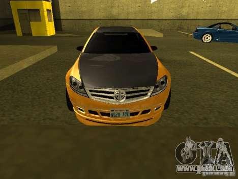 GTAIV Schafter Modded para visión interna GTA San Andreas