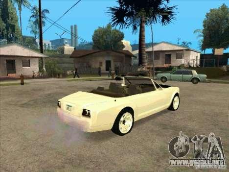 GTA 4 TBOGT Super Drop Diamond para la visión correcta GTA San Andreas