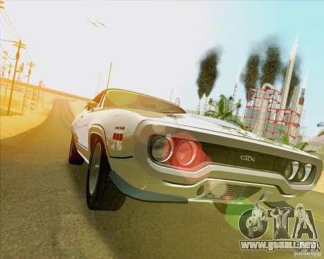 New Playable ENB Series para GTA San Andreas octavo de pantalla