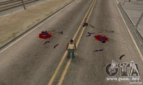 GTA SA Real ragdoll para GTA San Andreas