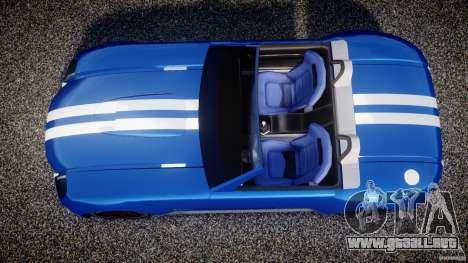 Ford Shelby Cobra Concept para GTA 4 visión correcta