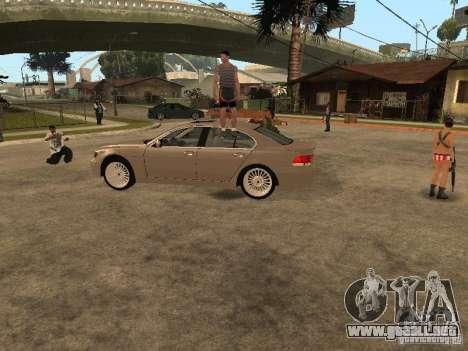 Pati en Groove st. para GTA San Andreas segunda pantalla