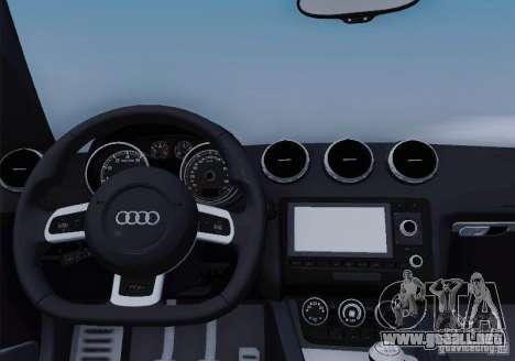 Audi TT-RS Coupe para el motor de GTA San Andreas