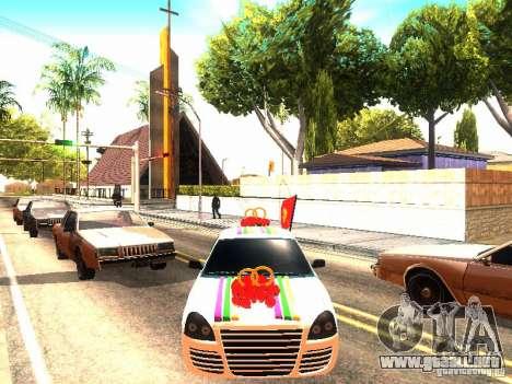 LADA 2170 boda para la visión correcta GTA San Andreas