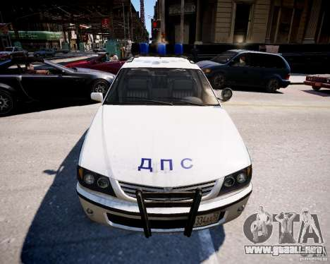 Russian Police Patrol para GTA 4 visión correcta