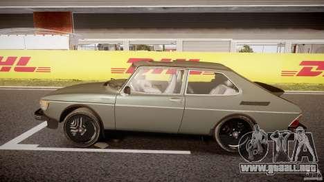 SAAB 99 Turbo 1978 para GTA 4 left