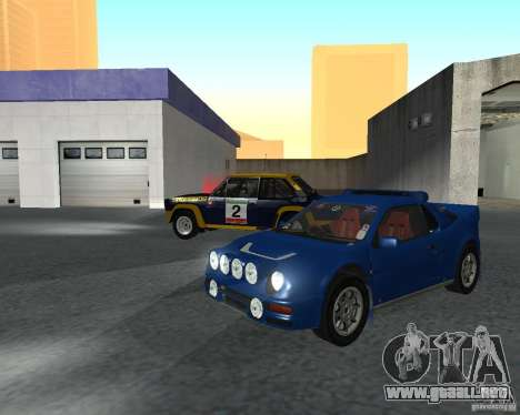 Ford RS 200 para GTA San Andreas left