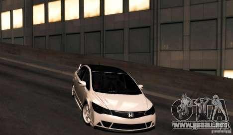 Honda Civic JDM para GTA San Andreas vista posterior izquierda