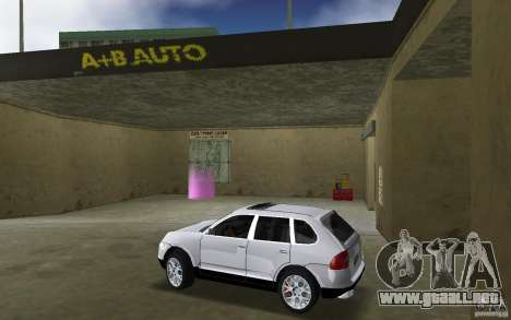 Porsche Cayenne para GTA Vice City left
