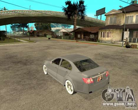Cheverolet Epica para GTA San Andreas left