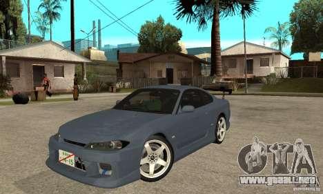Nissan Silvia S15 Tun para GTA San Andreas left