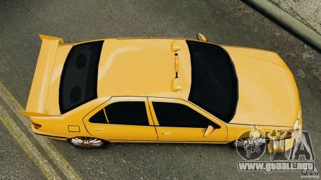Peugeot 406 Taxi para GTA 4 visión correcta