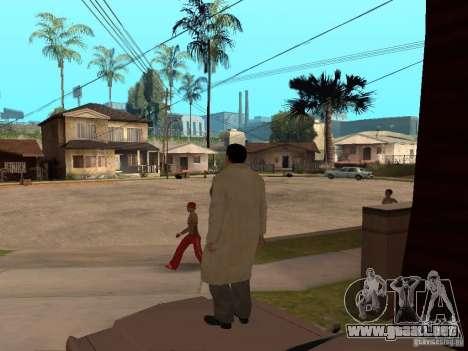 Joe Barbaro de Mafia 2 para GTA San Andreas tercera pantalla