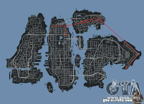 New Map Mod para GTA 4 séptima pantalla
