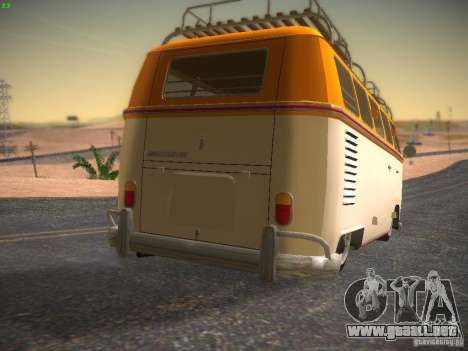 Volkswagen Type 2 Custom para GTA San Andreas left