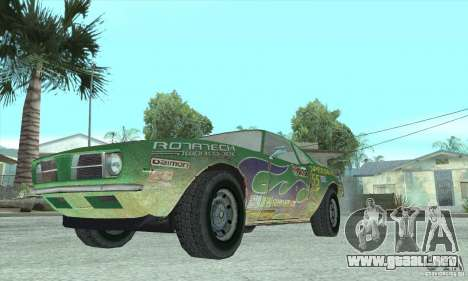Speedevil de FlatOut para visión interna GTA San Andreas
