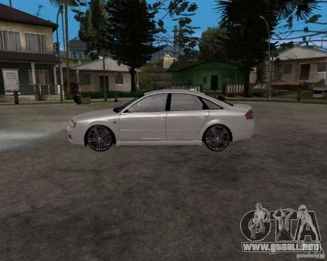 Audi RS6 (A6) para GTA San Andreas left