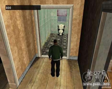 Interiores ocultos 3 para GTA San Andreas sucesivamente de pantalla