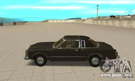 Chrysler Le Baron 1978 para GTA San Andreas left