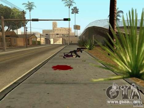 Armas nacional-versión 1.5 para GTA San Andreas sexta pantalla