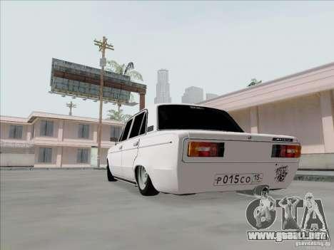 BPAN VAZ 2106 para la visión correcta GTA San Andreas