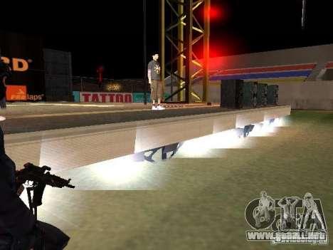 Concierto de la AK-47 para GTA San Andreas décimo de pantalla