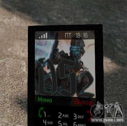 Nuevos temas para tu teléfono para GTA 4 tercera pantalla