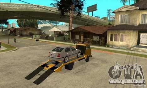Camión de remolque Avia A31 para la visión correcta GTA San Andreas