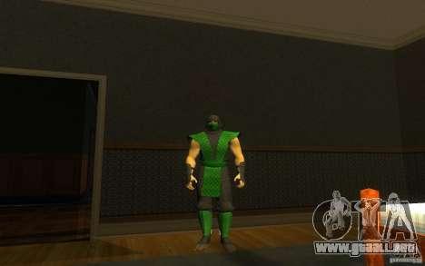 Retro Reptile mk para GTA San Andreas segunda pantalla