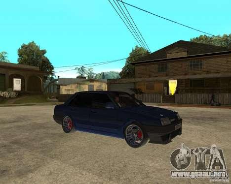 Vaz 21099 sintonía por Danil para la visión correcta GTA San Andreas