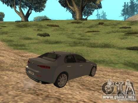 Alfa Romeo 159Ti para la visión correcta GTA San Andreas