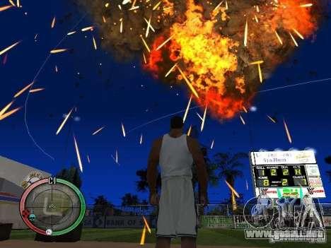 RAIN OF BOXES para GTA San Andreas octavo de pantalla