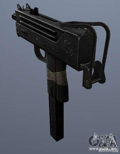 MAC10 para GTA San Andreas segunda pantalla