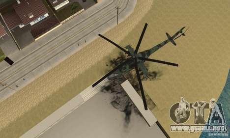 Black Ops Hind para la visión correcta GTA San Andreas