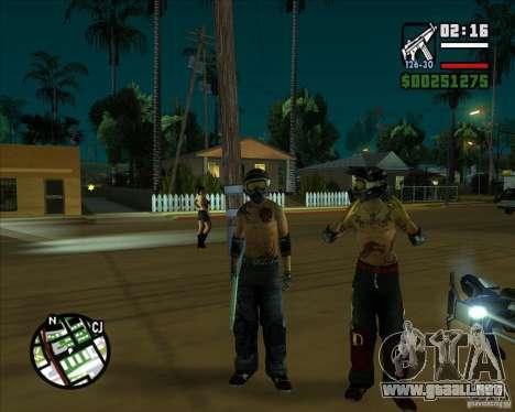 Nuevos aspectos de surco para GTA San Andreas sucesivamente de pantalla