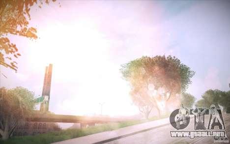 Lensflare 1.1 Final para GTA San Andreas tercera pantalla