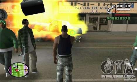 Nueva vista para GTA San Andreas octavo de pantalla