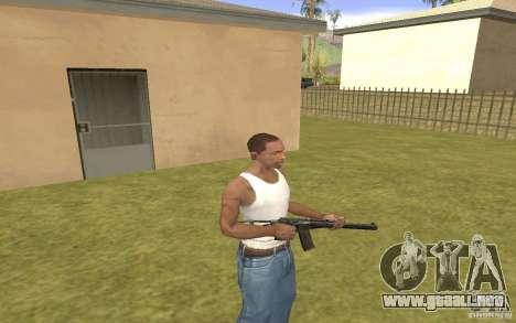 Máquina especial del eje para GTA San Andreas tercera pantalla