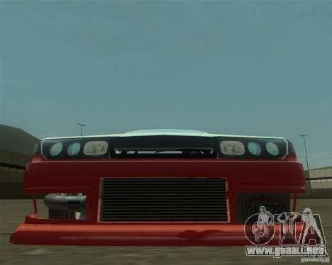 Nissan Cefiro A31 (D1GP) para GTA San Andreas vista hacia atrás