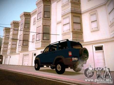 UAZ Patriot 3160 para GTA San Andreas left