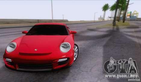 Porsche 911 GT2 para visión interna GTA San Andreas