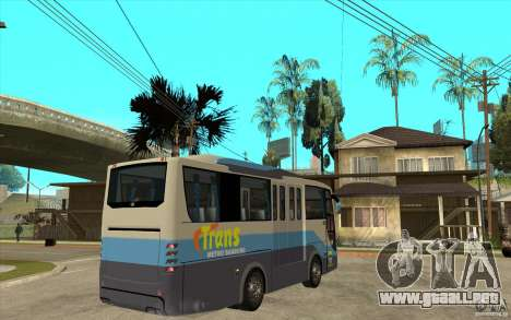 Hino Evo C para la visión correcta GTA San Andreas