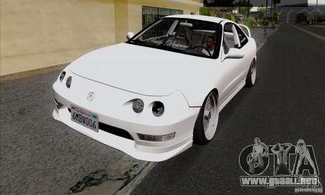 Acura Integra para GTA San Andreas